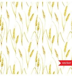 Wheat pattern vector