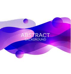 Abstract 3d colorful gradient drop liquid vector