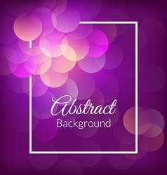 Romantic bokeh background vector