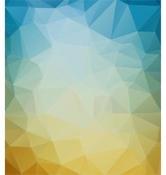 Abstract mosaic colorful background vector image vector image