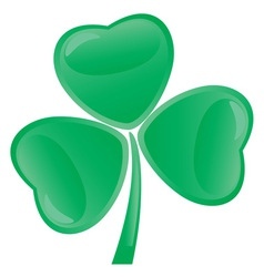 shamrock vector image vector image