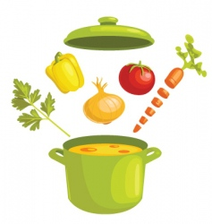 stew vector image