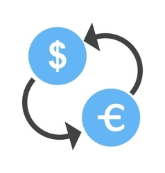 Currency exchange vector