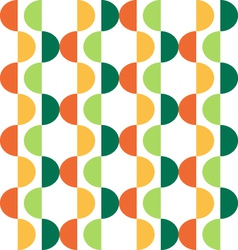 semicircle seamless pattern vector image