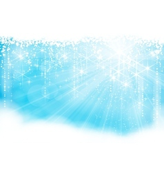 Sparkling light vector