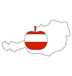 Austrian apple vector