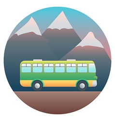 Bus detailed vector