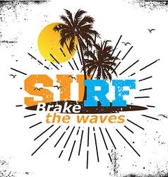 California surf logo vector