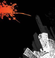 city corner design vector image