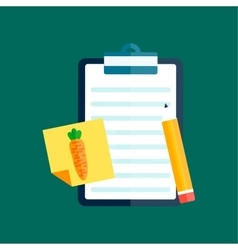 Notebook document checklist test vector