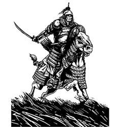 Knight vector image