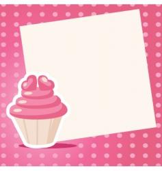 love cake vector image