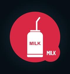 Beverage icon vector