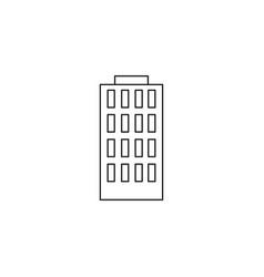 building icon vector image vector image