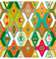 seamless ethnic pattern vector image vector image