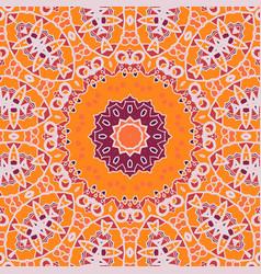 Mandala print chakra circle seamless ornamental vector
