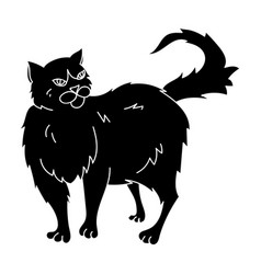 persian icon in black style isolated on white vector image vector image