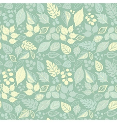 Seamless pattern with leaf Copy that square to the vector image