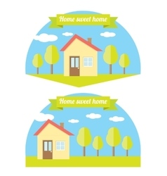 House  home sweet home vector