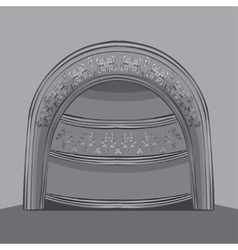arch vector image