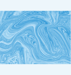 blue marbling texture design for poster brochure vector image