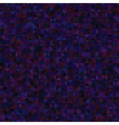 Dark Blue Polygonal Background vector image vector image