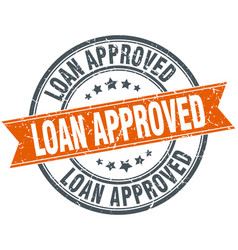 Loan approved vector