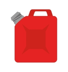 Oil bottle gallon vector