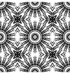 Ornamental seamless line pattern endless texture vector