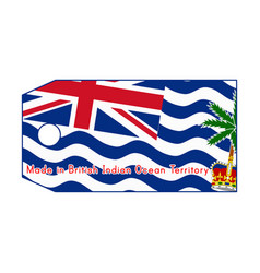 British indian ocean territory vector