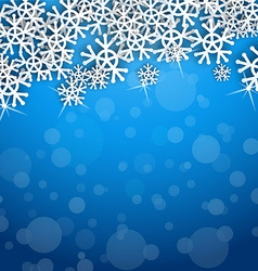 Cool snowflakes vector