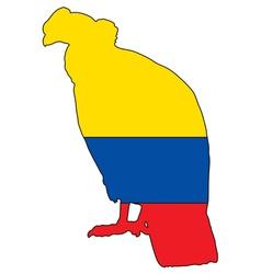 Andean Condor Ecuador vector image