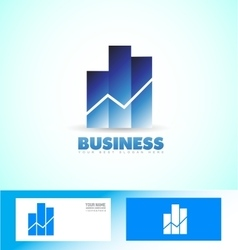Business investment logo vector