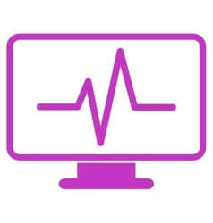 Monitoring Icon vector image
