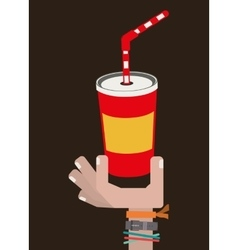 Delicious drink design vector