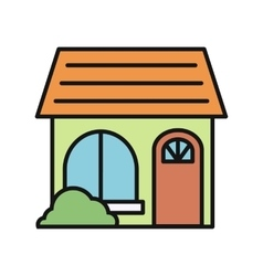 House icon on white vector