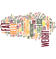 bellyhands text background word cloud concept vector image vector image