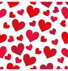 Heart background Love design graphic vector image
