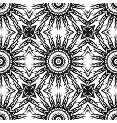 Ornamental seamless line pattern endless texture vector