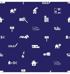 Real estate blue pattern eps10 vector