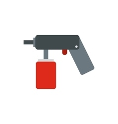 Spray aerosol can bottle with a nozzle icon vector image