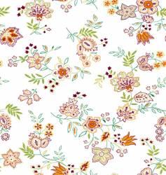 floral print design vector image