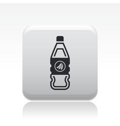 fruit juice icon vector image vector image