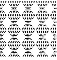 rhombus chaotic seamless pattern 201 vector image