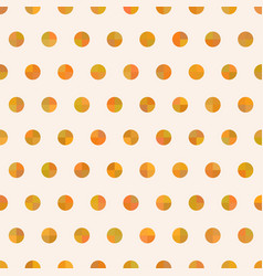 seamless cute delicate simple pattern with circles vector image vector image