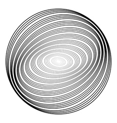 Design monochrome ellipse background vector