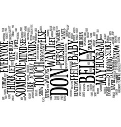 bellyhandswps text background word cloud concept vector image vector image