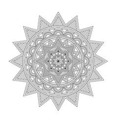Floral mandala vector