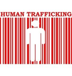 Human trafficking relative image vector