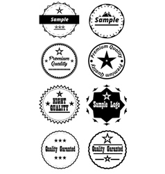 Classic badges by dt vector